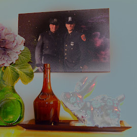 by Lorraine D.  Heaney - Artistic Objects Still Life