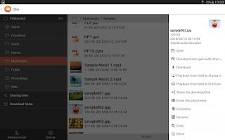Screenshot of Qfile