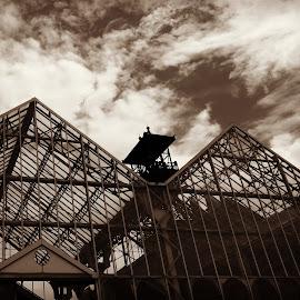 Coal mine by Alyne De Rudder - Buildings & Architecture Architectural Detail