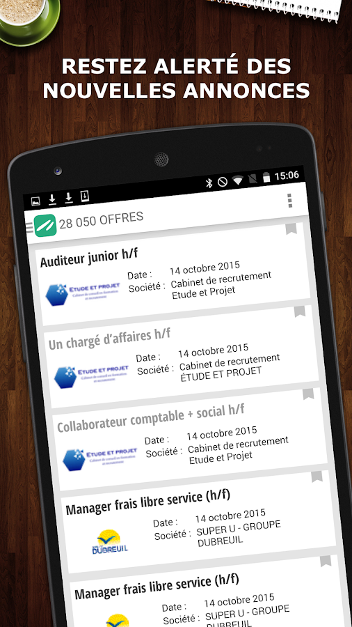 Keljob : Emploi, Job et Stage Screenshot 2
