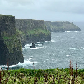 Cliffs of Moher  by Roxana McRoberts - Instagram & Mobile iPhone ( landscape )