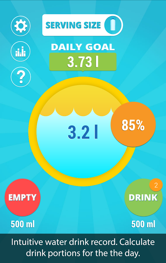 Aqualert:Water Tracker Premium Screenshot 0