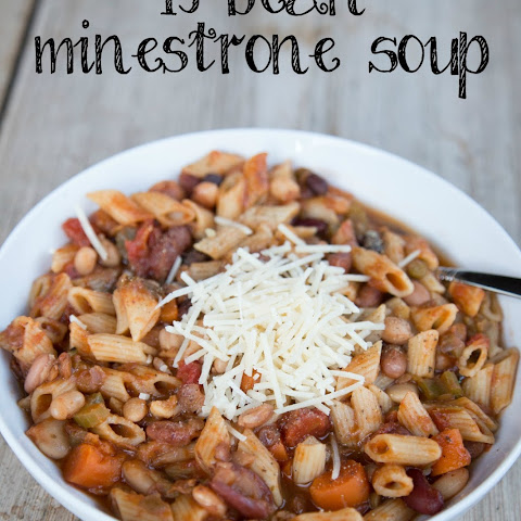15 Bean Minestrone Soup