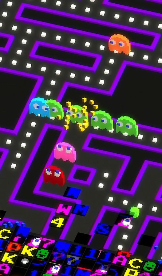 PAC-MAN 256 - Endless Maze Screenshot 6