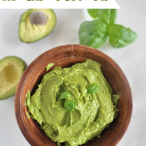 Avocado Pesto Dip
