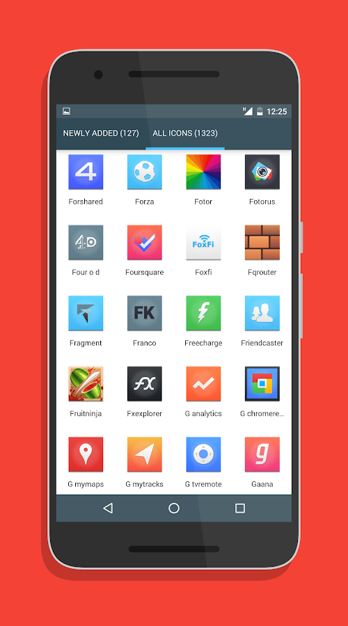 Canvas Icon Pack Screenshot 4