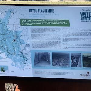 Bayou Plaquemine - Plaquemine Lock State Historic Site