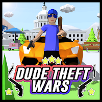 Dude Theft Wars: Open World Sandbox Simulator BETA on PC / Windows 7.8.10 & MAC