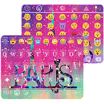 Galaxy Paris KK Emoji Keyboard Icon