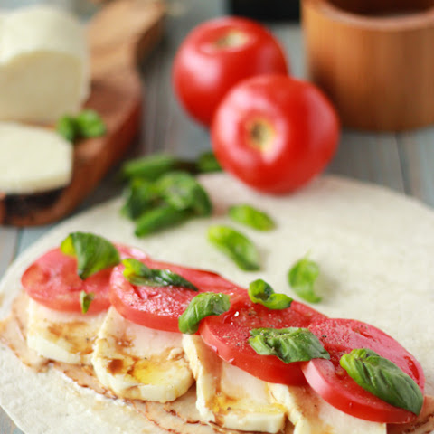 Chicken Caprese Wraps