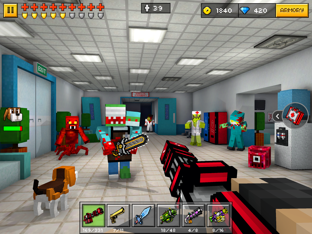 Pixel Gun 3D (Pocket Edition) Screenshot 9