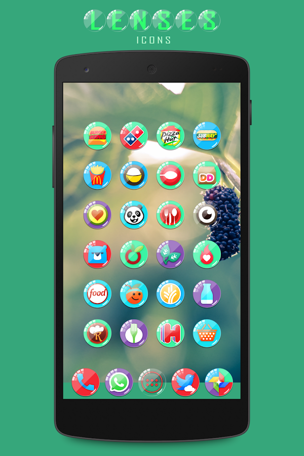 Lenses Icon Pack Screenshot 1