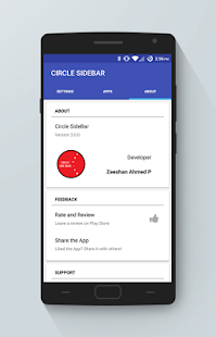Circle SideBar Screenshot