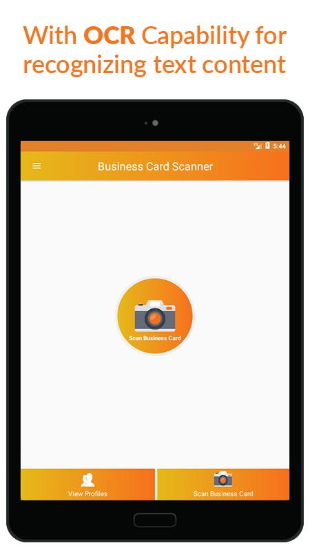 Business Card Scanner & Reader - Free Card Reader Screenshot 9