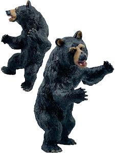 """Игрушка-фигурка серии """"Город Игр"""", медвежонок L2, черный"""
