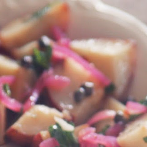 Easter Potato Salad With Pickled Pink Onions