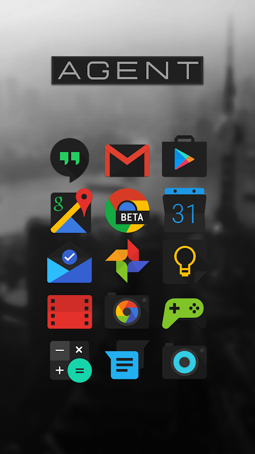 Agent Icon Pack Screenshot