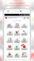 Screenshot of Vodafone Self Servis