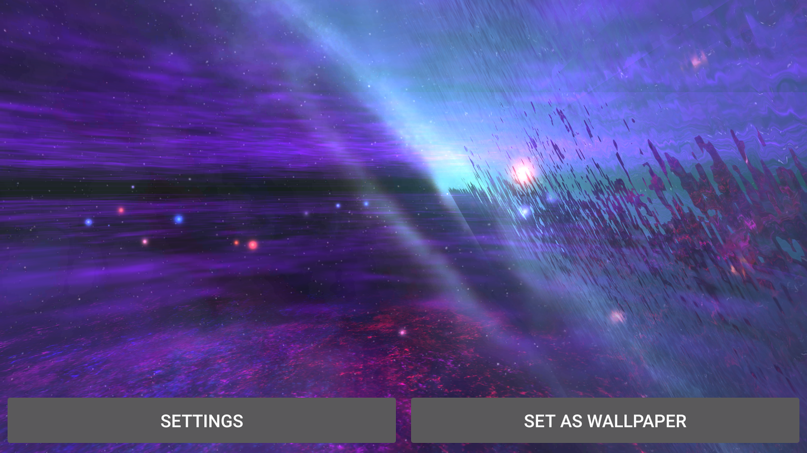 Alien Galaxy 3D Live Wallpaper Screenshot 12
