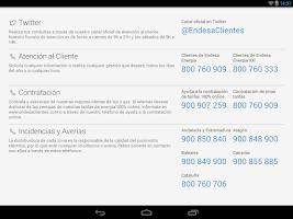 Screenshot of Endesa Clientes