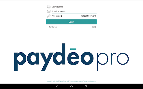 PaydeoPro - screenshot