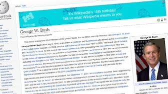 George-W-Bush-tops-Wikipedia-15th-birthday-list