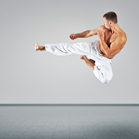 martial arts master by Markus Gann - Sports & Fitness Other Sports ( body, person, kick, arts, fight, foot, people, free, martial, lifestyle, action, combat, power, gym, black, art, leisure, fun, health, taekwondo, jump, strong, belt, tough, active, fist, boxing, concept, exercise, self, trainer, training, personal, wellness, fighter, activity, man, karate, defense, male, sport, adult, master, leg, practice, healthy, box, high, attack )