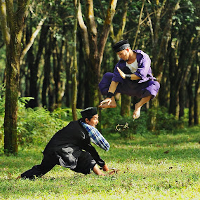 traditional pencak silat,.... by Lie Oktevianus - Sports & Fitness Other Sports