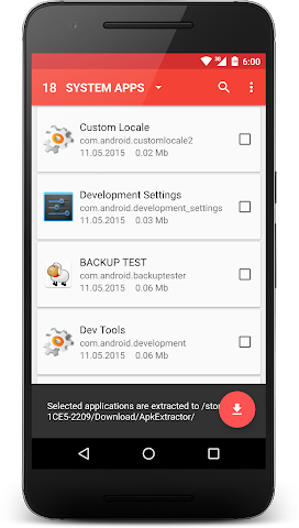 android APK Extractor Screenshot 5