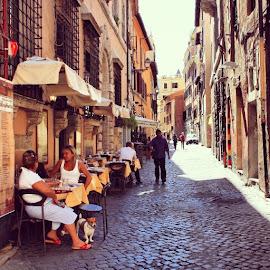 Trastevere by Kaisa K - City,  Street & Park  Neighborhoods