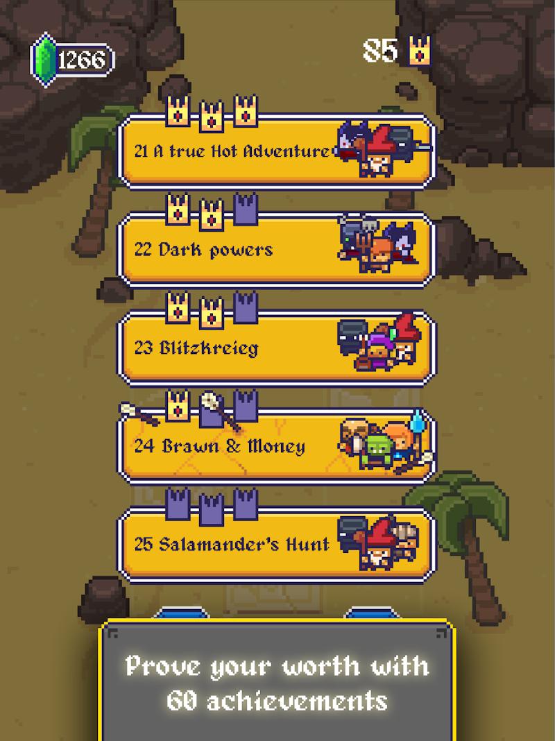 King Crusher – a Roguelike Game Screenshot 14