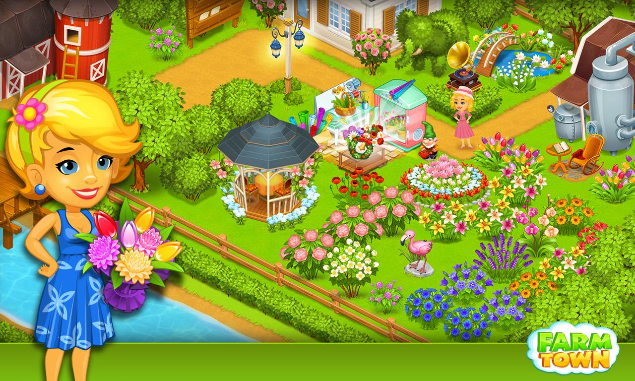 Farm Town:Happy City Day Story Screenshot 8