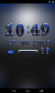 North Digital Clock Widget - screenshot