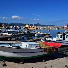 Kayıklar by Ahmet Çamaltı - Landscapes Travel