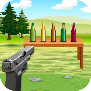 Bottle Shoot 3D For PC