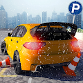 Multi-Level Snow Car Parking
