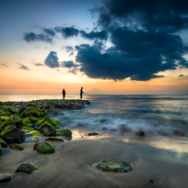 Fishing #2 by Agus Junam - Landscapes Beaches