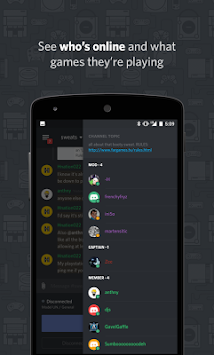Discord - Chat Cho Game Thủ APK screenshot thumbnail 4