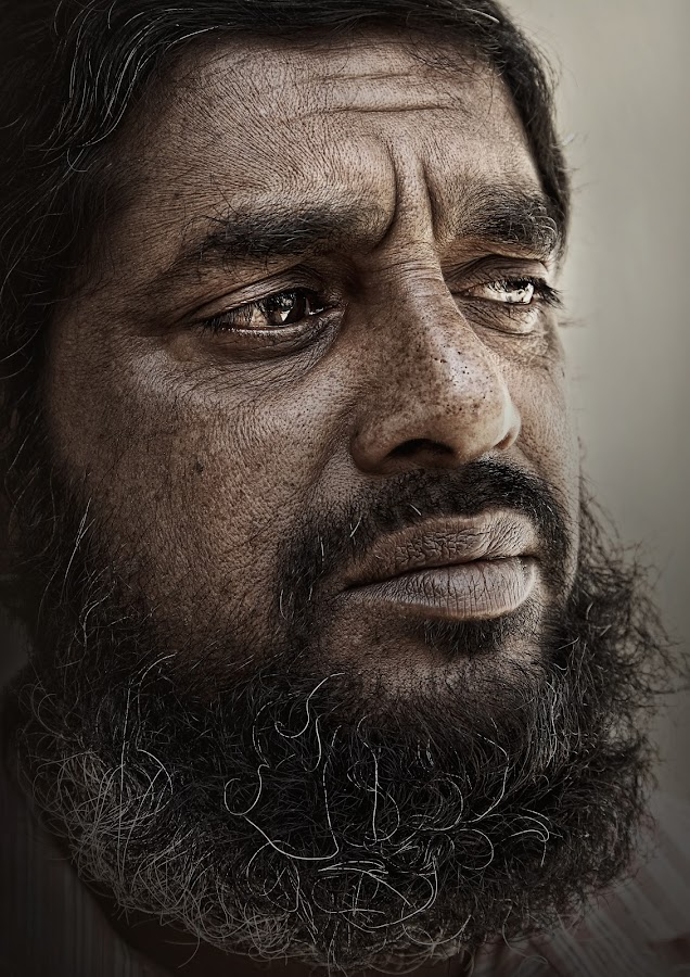 Muhamad The Care Taker by Leyon Albeza - People Portraits of Men