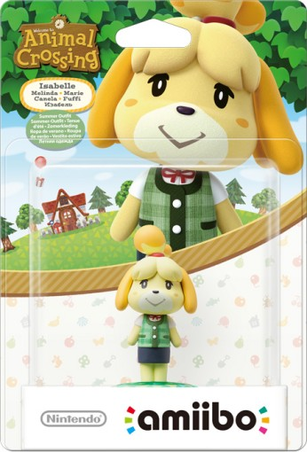 Isabelle - Summer Outfit packaged (thumbnail) - Animal Crossing series