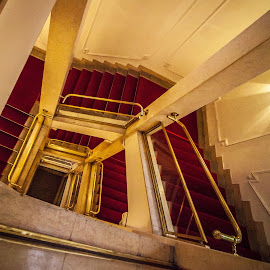 Stairs, Narodno pozoriste, Belgrade by Станиша Стојановић - Buildings & Architecture Other Interior
