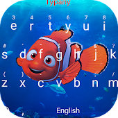 Free Clown Fish Theme&&Emoji Keyboard APK for Windows 8