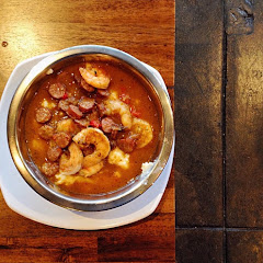 Shrimp & Grits...yes, GF but not dairy free :D...amazing flavor!