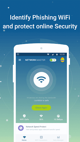 Network Master - Speed Test Android App Screenshot