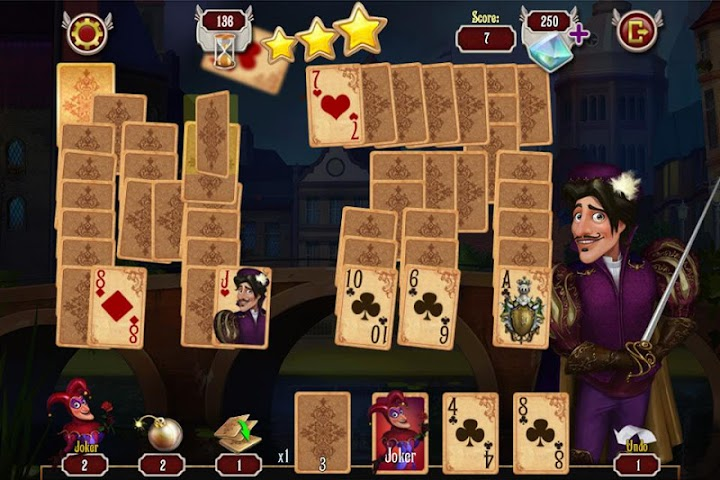 android Mousquetaire Solitaire Gratuit Screenshot 2