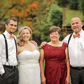 Wedding Day by Tony Bendele - Wedding Groups ( wedding, bride, groom )