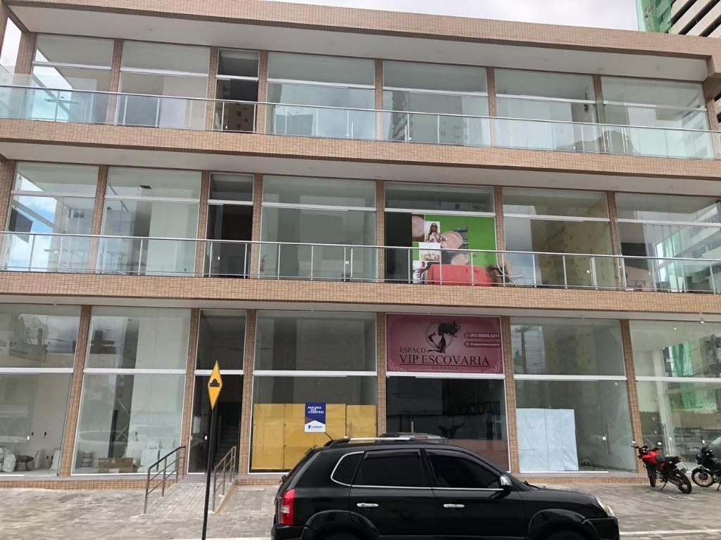 Sala para alugar, 35 m² por R$ 1.450/mês - Manaíra - João Pessoa/PB