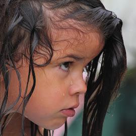 Frida by Joao Bettencourt - Babies & Children Child Portraits ( child, little girl, swimming pool, child portrait, children, swimming,  )