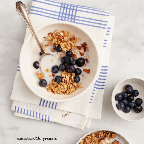 Breakfast Bowl With Amaranth Granola