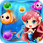 Mermaid Bubble Shooter Ball Pop: Fun Game For Free Icon